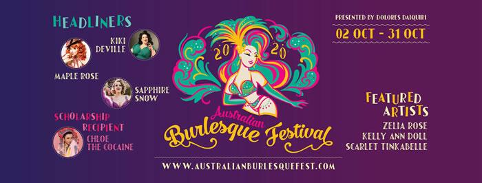 Australian Burlesque Festival 2020